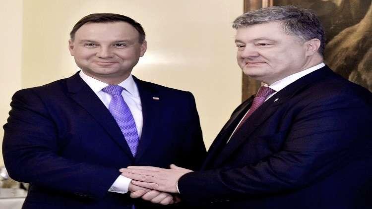 رئيسا بولندا وأوكرانيا يلتقيان في خاركوف