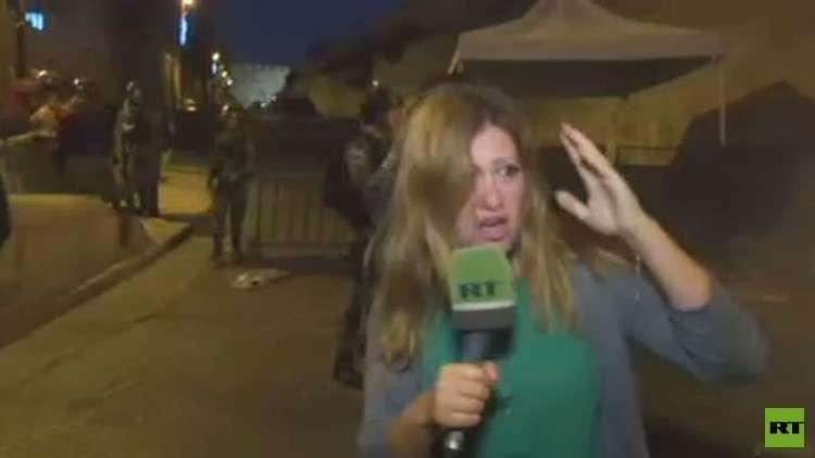 مراسلة RT في القدس، داليا النمري (صورة أرشيفية)