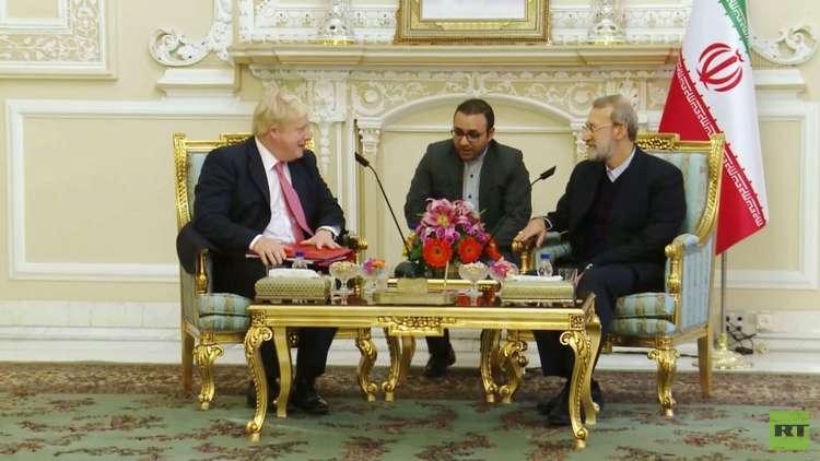 لاريجاني ينتقد عدم تعاون بريطانيا مع إيران بعد الاتفاق النووي