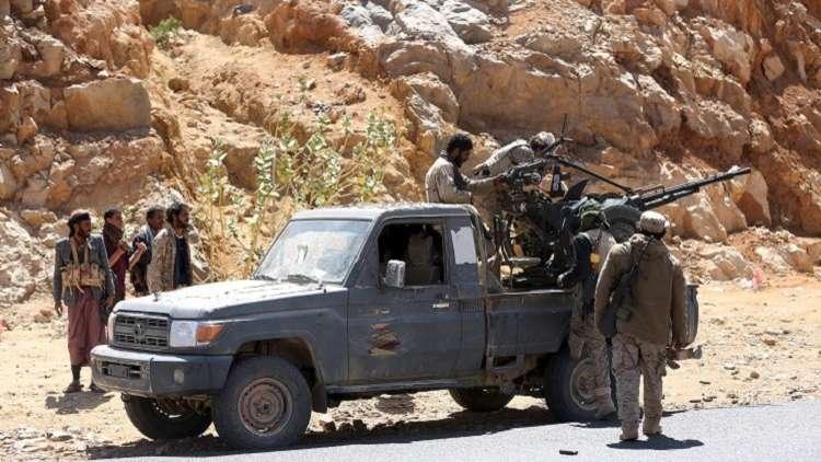 الجيش اليمني يسيطر على مثلث
