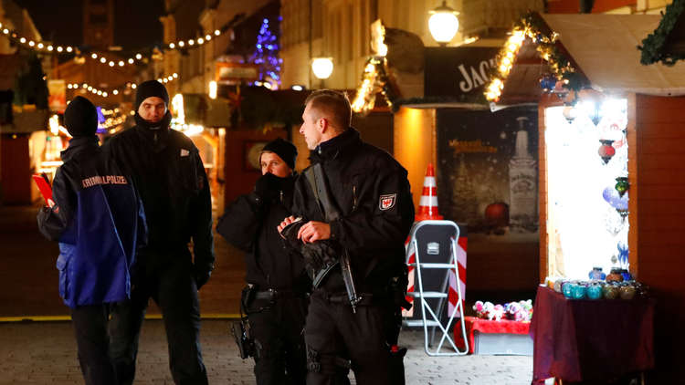 العثور على كمية من الذخائر قرب سوق الميلاد في برلين