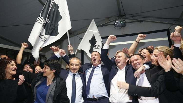 فوز القوميين في الانتخابات المحلية بكورسيكا الفرنسية