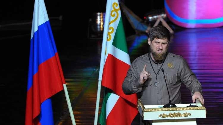 قديروف يشيد بدور جنوده في محاربة
