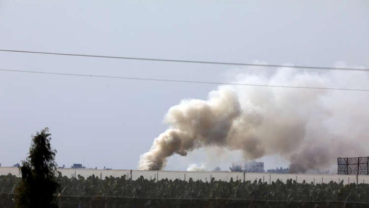 إطلاق صاروخ من قطاع غزة وإسرائيل ترد بالقصف