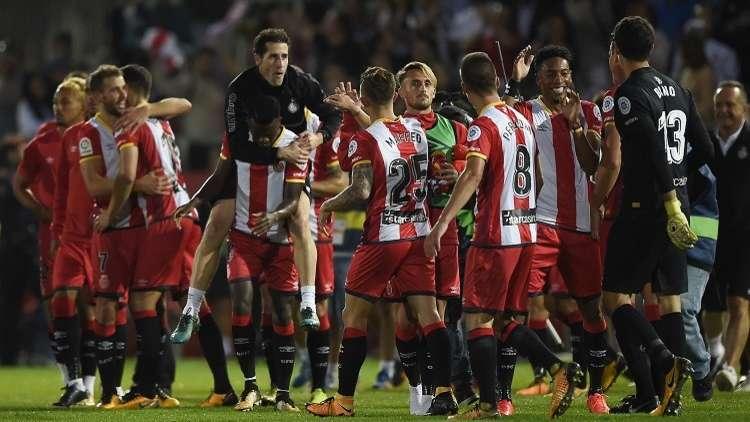 بالفيديو.. جيرونا قاهر ريال مدريد يخرج من برشلونة منتصرا