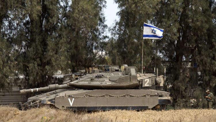 الجيش الإسرائيلي يقصف مواقع لحماس في غزة