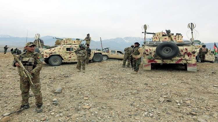 مقتل 9 دواعش وتدمير معمل لإنتاج الهيروين في أفغانستان