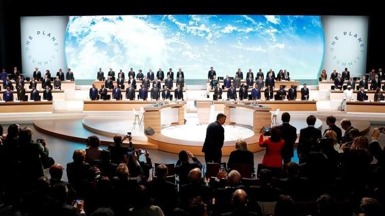 ماكرون: المجتمع الدولي يخسر معركته مع تغيّر المناخ