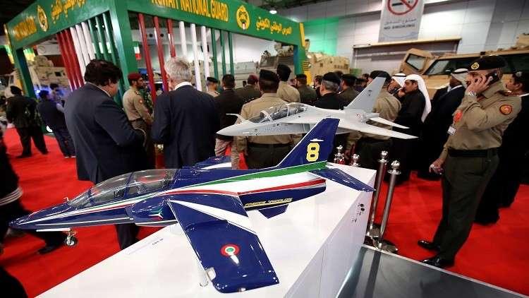 انطلاق فعاليات معرض الخليج للدفاع والطيران في الكويت