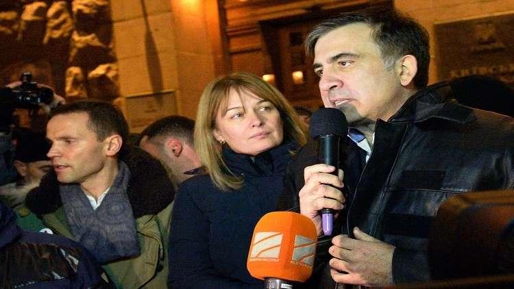 سآكاشفيلي يعلن  استعداده ترأس الحكومة الأوكرانية