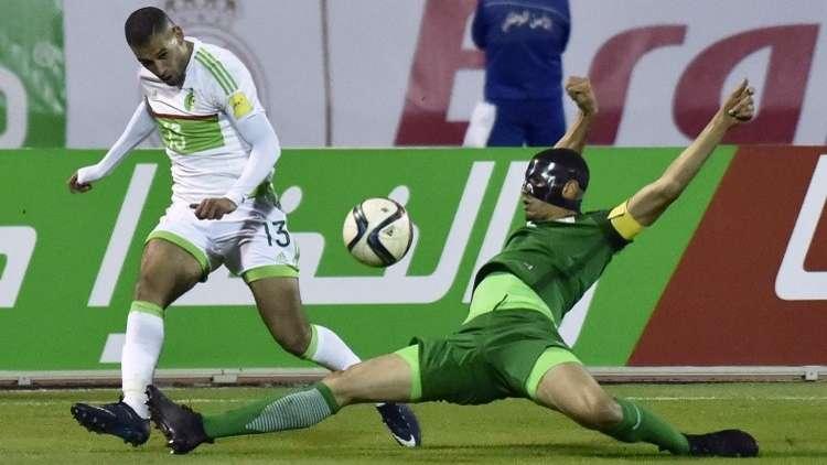 الفيفا يعتبر الجزائر فائزة على نيجيريا في تصفيات كأس العالم