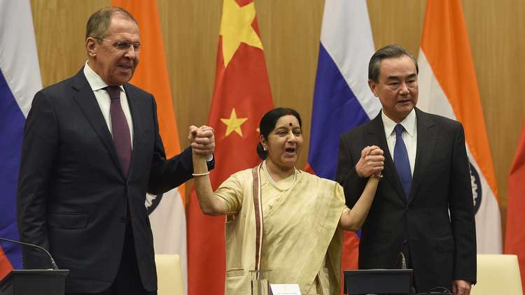 الهند مستاءة من الصين ومنزعجة من روسيا