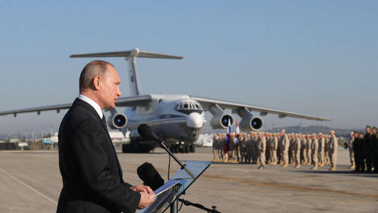 الكرملين: بوتين أشرف شخصيا على العملية العسكرية الروسية في سوريا