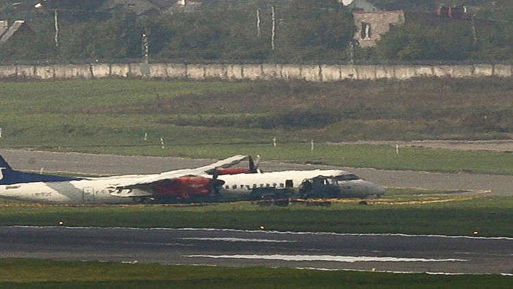 تحطم طائرة ركاب كندية على متنها 25 شخصا