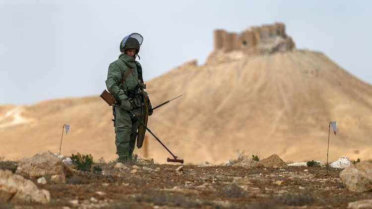 من ذكريات جنود الهندسة الروس في سوريا