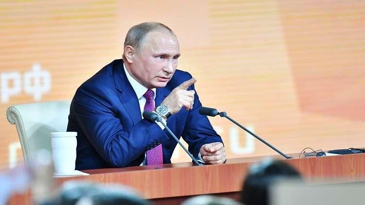 بوتين يحدد شروط التعاون مع الولايات المتحدة
