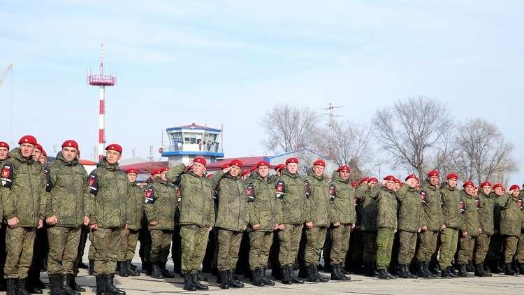 بوتين: نشرنا في سوريا عناصر شرطة روسية من