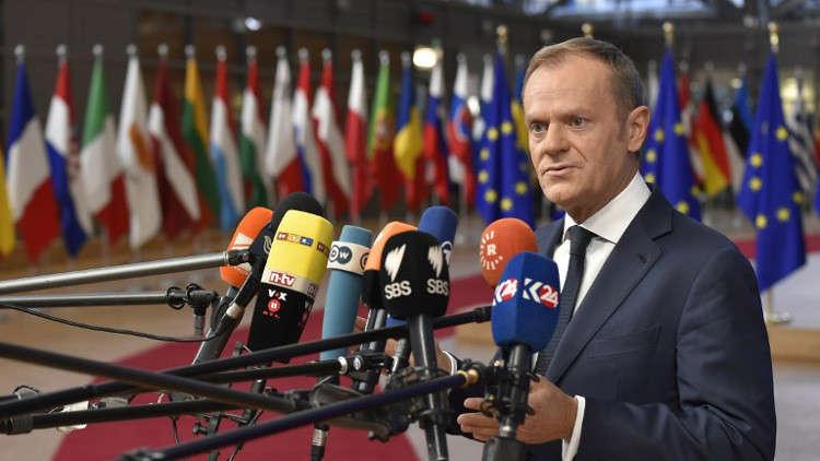 توسك: دول الاتحاد الأوروبي اتفقت على تمديد العقوبات ضد روسيا