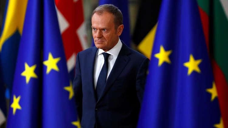 توسك: موقف قادة الدول الأوروبية من مسألة القدس