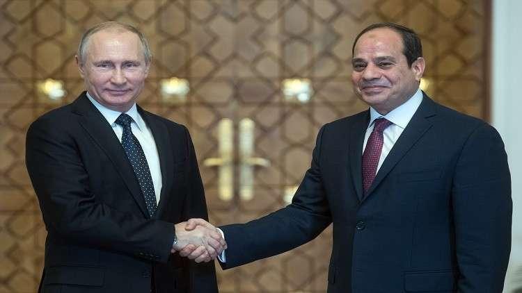 كاتب مصري: بوتين يراهن على مصر في سياسته بالشرق الأوسط