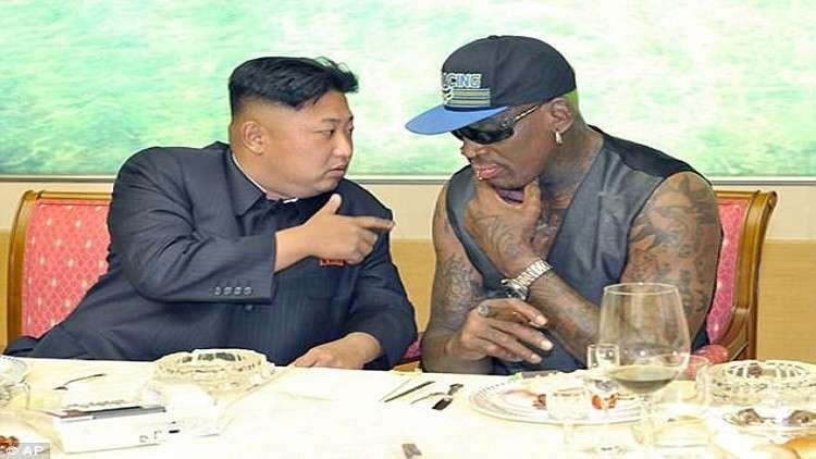 رودمان:  صديقي كيم طفل يحمل أسلحة نووية!