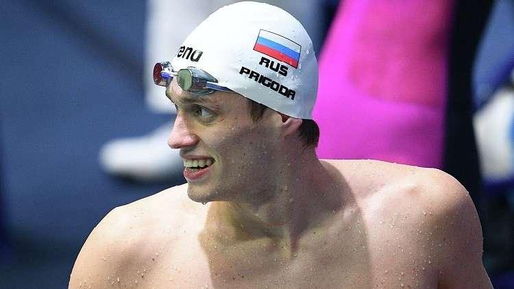 بريغودا يهدي روسيا ميدالية ذهبية في بطولة أوروبا للسباحة