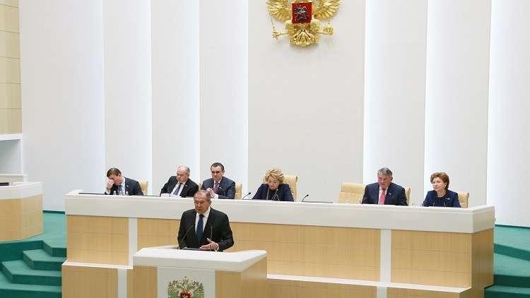 لافروف: التطورات في سوريا تمهد لحوار سياسي على أساس القرار 2254
