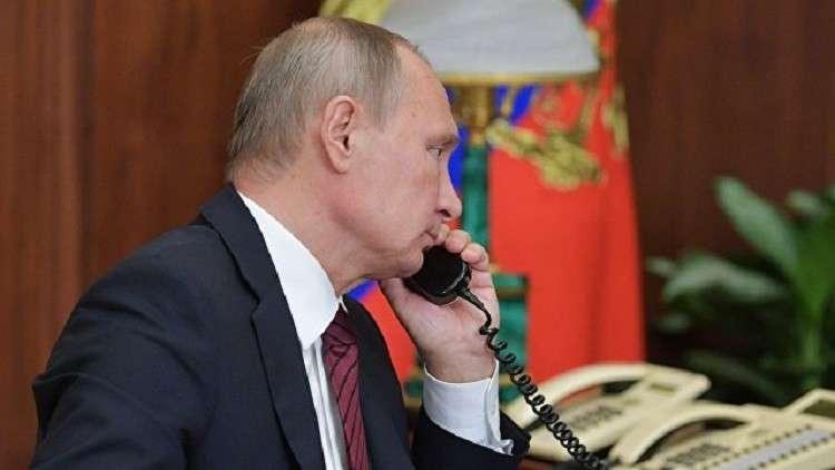 بوتين وترامب يتفقان على تبادل المعلومات والمبادرات بشأن كوريا الشمالية