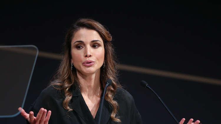 الملكة رانيا تنعى