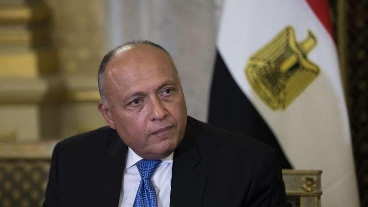 شكري إلى تونس للمشاركة في الاجتماع الوزاري الثلاثي حول ليبيا