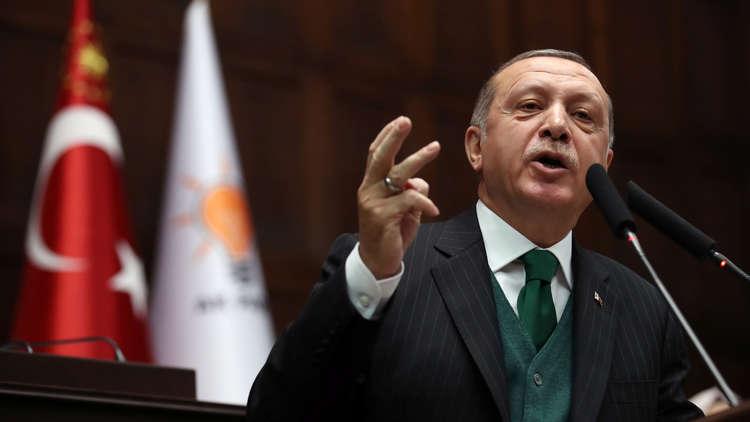 أردوغان: إسرائيل تمارس الإرهاب مثل التنظيمات الإرهابية