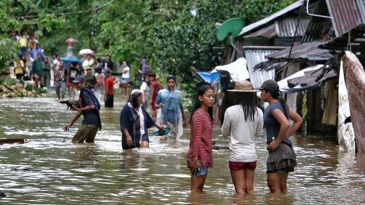 مقتل 3 أشخاص وفقدان 6 آخرين جراء عاصفة ضربت الفلبين