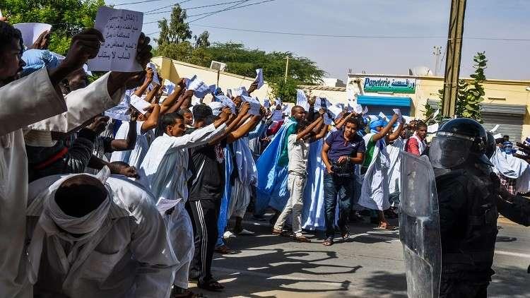النشيد والعلم يشعلان الأجواء في موريتانيا