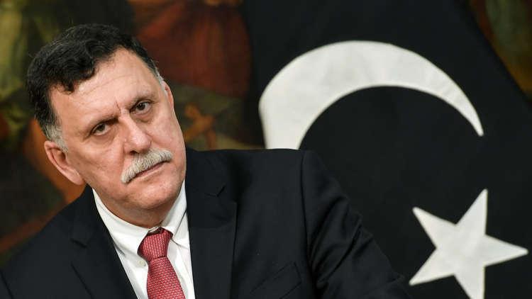 السرّاج في الجزائر لبحث الأزمة الليبية