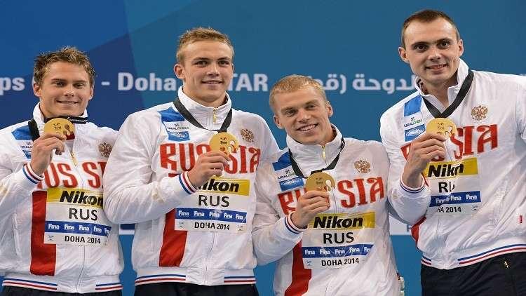 روسيا في صدارة جدول ميداليات بطولة أوروبا للسباحة