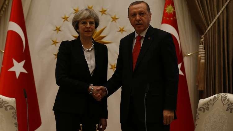 أردوغان وماي ينتقدان الموقف الأمريكي من القدس