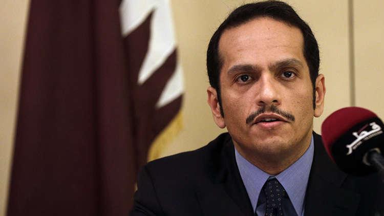 وزير خارجية قطر يصل الجزائر لبحث الوضع في المنطقة العربية