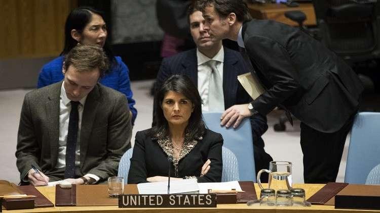 دمشق تدين الفيتو الأمريكي ضد القرار الأممي حول القدس