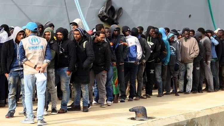 الأمم المتحدة تعتزم نقل 10 آلاف مهاجر من ليبيا في 2018