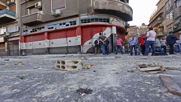 مقتل 3 أشخاص وإصابة 5 جراء سقوط قذائف في دمشق