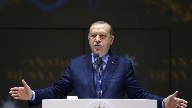 أردوغان: سننقل مشروع القرار المصري للجمعية العامة