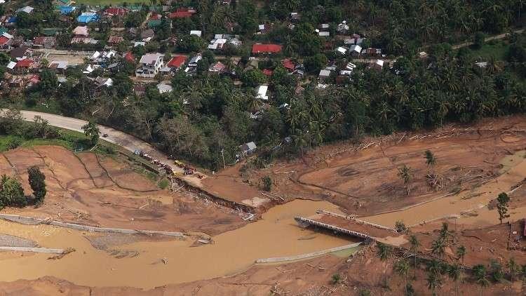مصرع 43 شخصا وفقدان العشرات جراء عاصفة في الفلبين