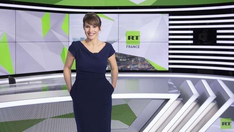 قناة RT France الجديدة على الهواء