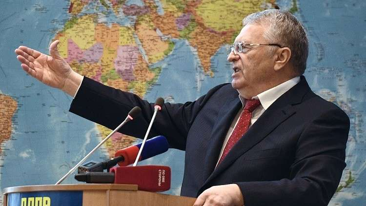 الحزب الليبرالي الديمقراطي الروسي يرشح جيرينوفسكي لخوض السباق الرئاسي
