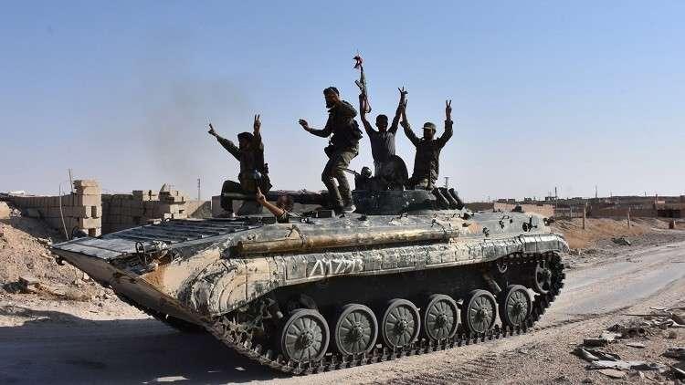 رئيس مجلس النواب الأردني يبارك انتصارات الجيش السوري على داعش