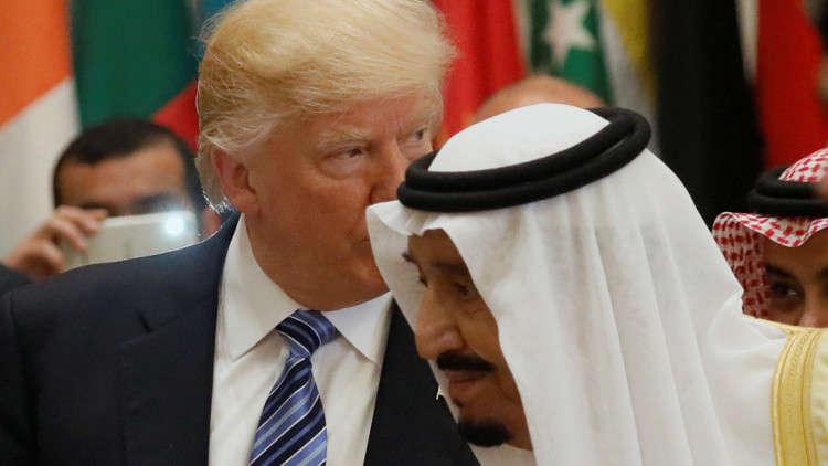 ترامب يجري اتصالا هاتفيا مع الملك السعودي