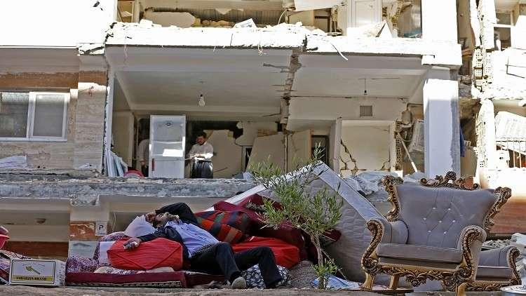 الجلطة تقتل إيرانيا بسبب الزلزال
