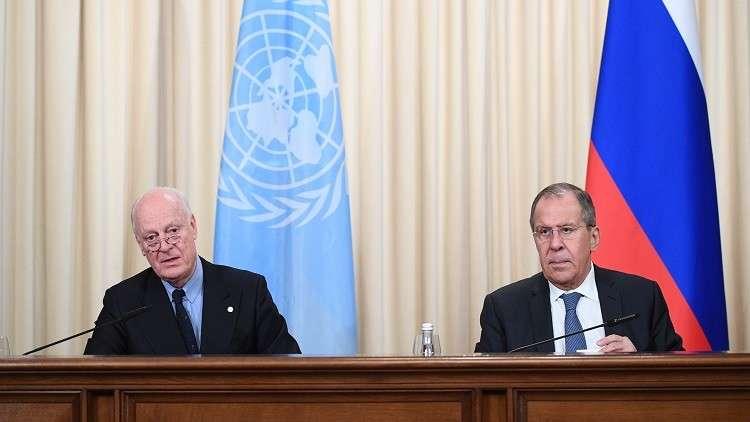 لافروف: مؤتمر الحوار السوري في سوتشي يهدف إلى تنفيذ القرار 2254