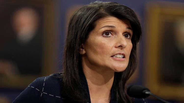 المندوبة الأمريكية: سننقل سفارتنا إلى القدس ولن يمنعنا من ذلك أي قرار
