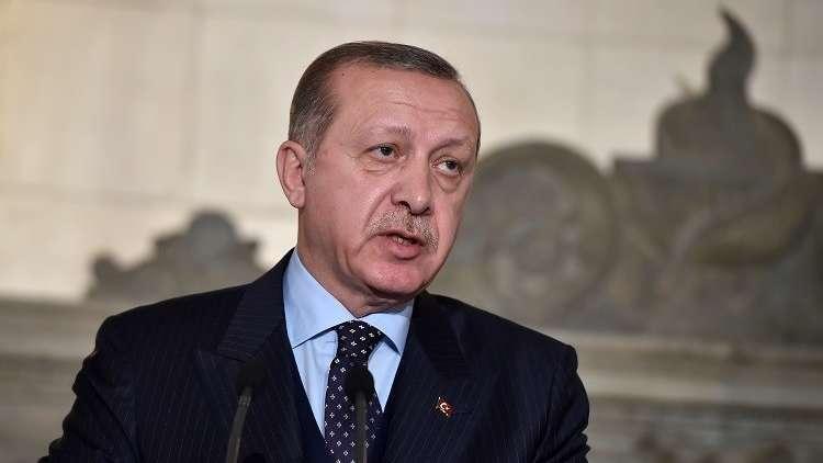 رسالة من أردوغان باللغة العربية